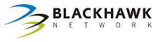 Logo of Blackhawk Network. Blackhawk Network is one of the leading brands that use SYNQY's new Retail Media Solution