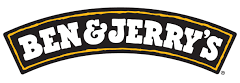 Logo of Ben & Jerry's .Ben & Jerry's is one of the leading brands that use SYNQY's new Retail Media Solution