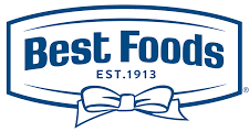 Logo of Best Foods .Best Foods is one of the leading brands that use SYNQY's new Retail Media Solution