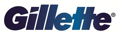 Logo of Gillette. Gillette one of the leading brands that use SYNQY's new Retail Media Solution