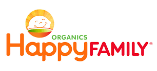 Logo of Organics Happy Family. Organics Happy Family is one of the leading brands that use SYNQY's new Retail Media Solution