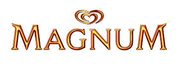 Logo of Magnum. Magnum is one of the leading brands that use SYNQY's new Retail Media Solution