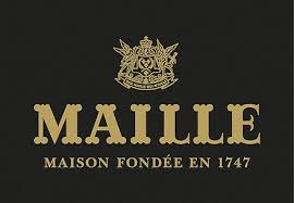 Logo of Maille. Maille is one of the leading brands that use SYNQY's new Retail Media Solution