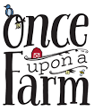 Logo of Once upon a Farm. Once upon a Farm is one of the leading brands that use SYNQY's new Retail Media Solution