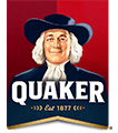 Logo of Quaker. Quaker is one of the leading brands that use SYNQY's new Retail Media Solution