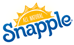 Logo of All Natural Snapple. All Natural Snapple is one of the leading brands that use SYNQY's new Retail Media Solution