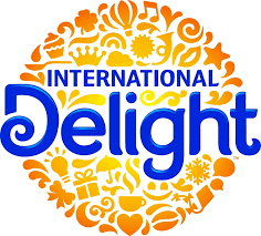 Logo of International Delight. International Delight is one of the leading brands that use SYNQY's new Retail Media Solution